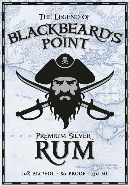 Blackbeard's Point Silver Rum