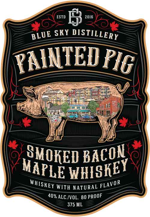 Painted Pig Bacon Maple Whiskey