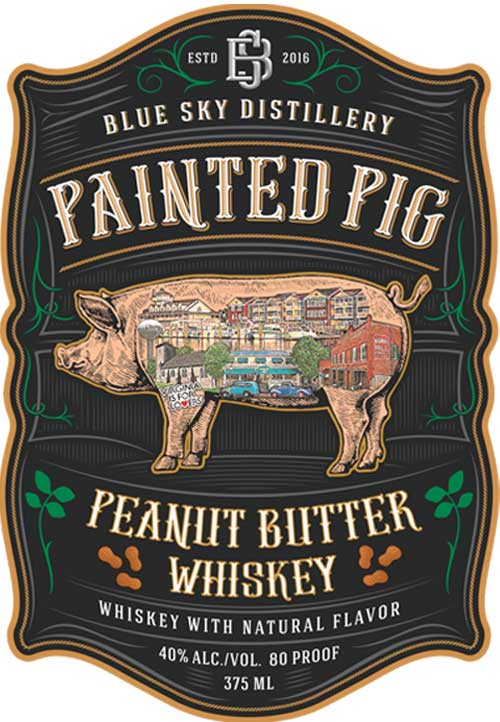 Painted Pig Peanut Butter Whiskey